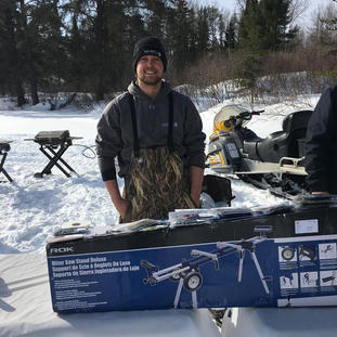 Jeffrey Martineau fishing day
