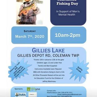Poster for Jeffrey Martineau Fishing Day