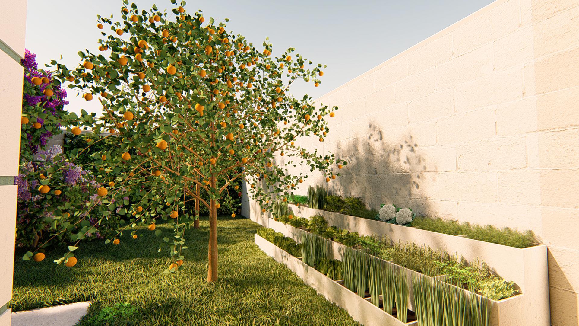 08- Pomar com horta e especiarias- Persp