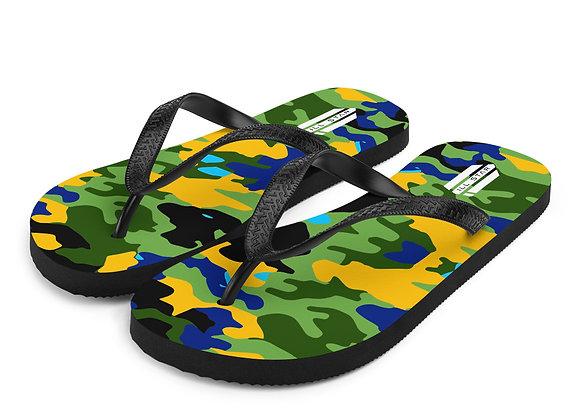 Origian Camo Flip-Flops
