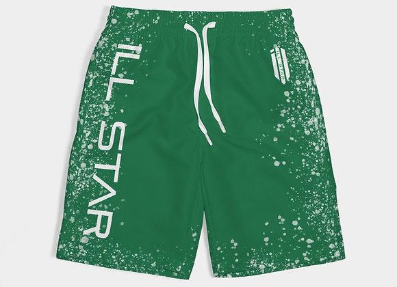 Fresh Green Boys Swim Trunk