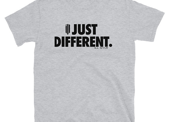Just Different (in black) Tee