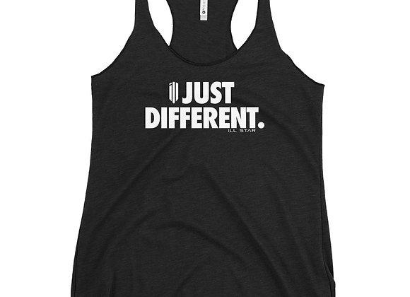 """Just Different"" Women's Racerback Tank"