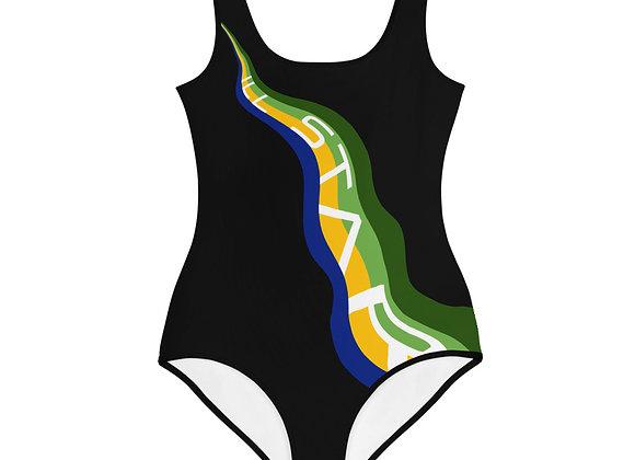 Ill Swoosh Girls Youth Swimsuit