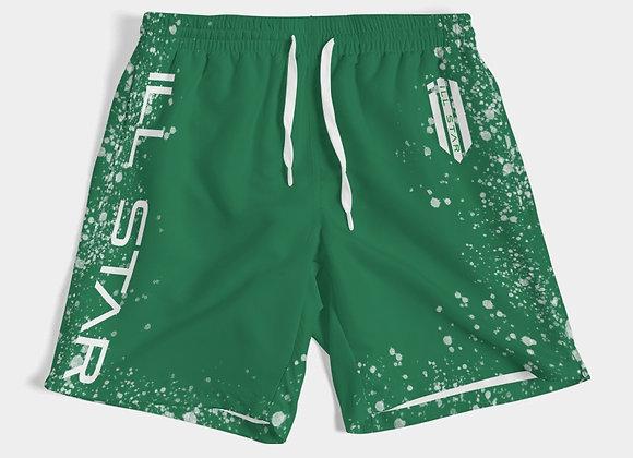Fresh Green Mens Swim Trunk
