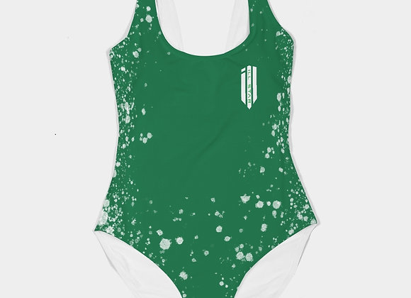 Fresh Green Womens One-Piece Bikini