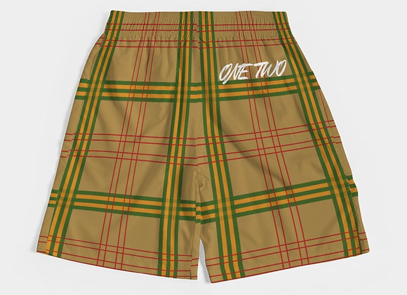 """""""One Two"""" Mens Premium Jogger Shorts"""