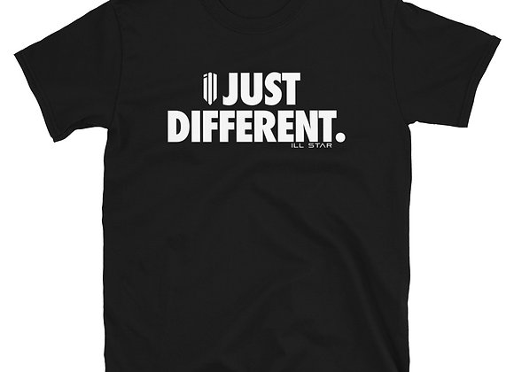 Just Different ( in white) Tee