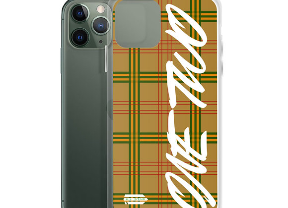 """""""One Two"""" iPhone Case"""