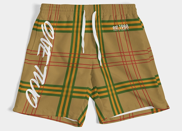 """""""One Two"""" Mens Swim Trunk"""