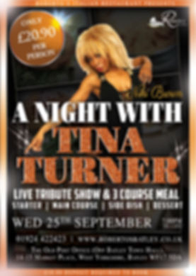 Tina Turner - Robertos - September Showt