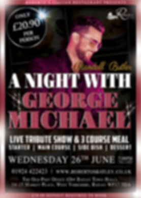 George Michael - Robertos - JUNE Showtim