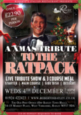 An Xmas tribute to the rat pack - Robert