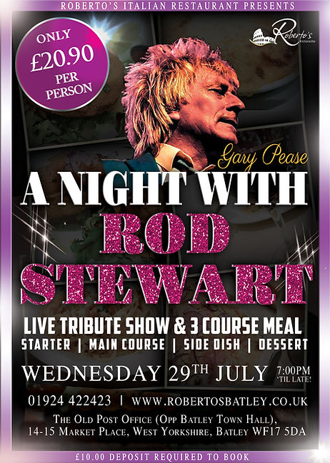 2020 Rod Stewart - Robertos - july Showt