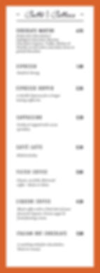COFFEE PAGE MENU SUMMER 2019 reverse for