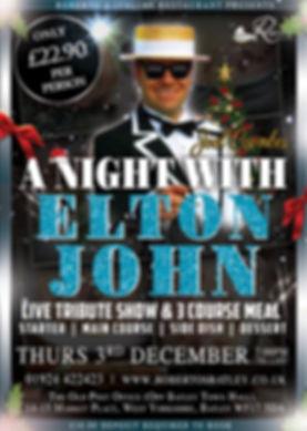 2020 Elton John - Robertos - DECEMBER -
