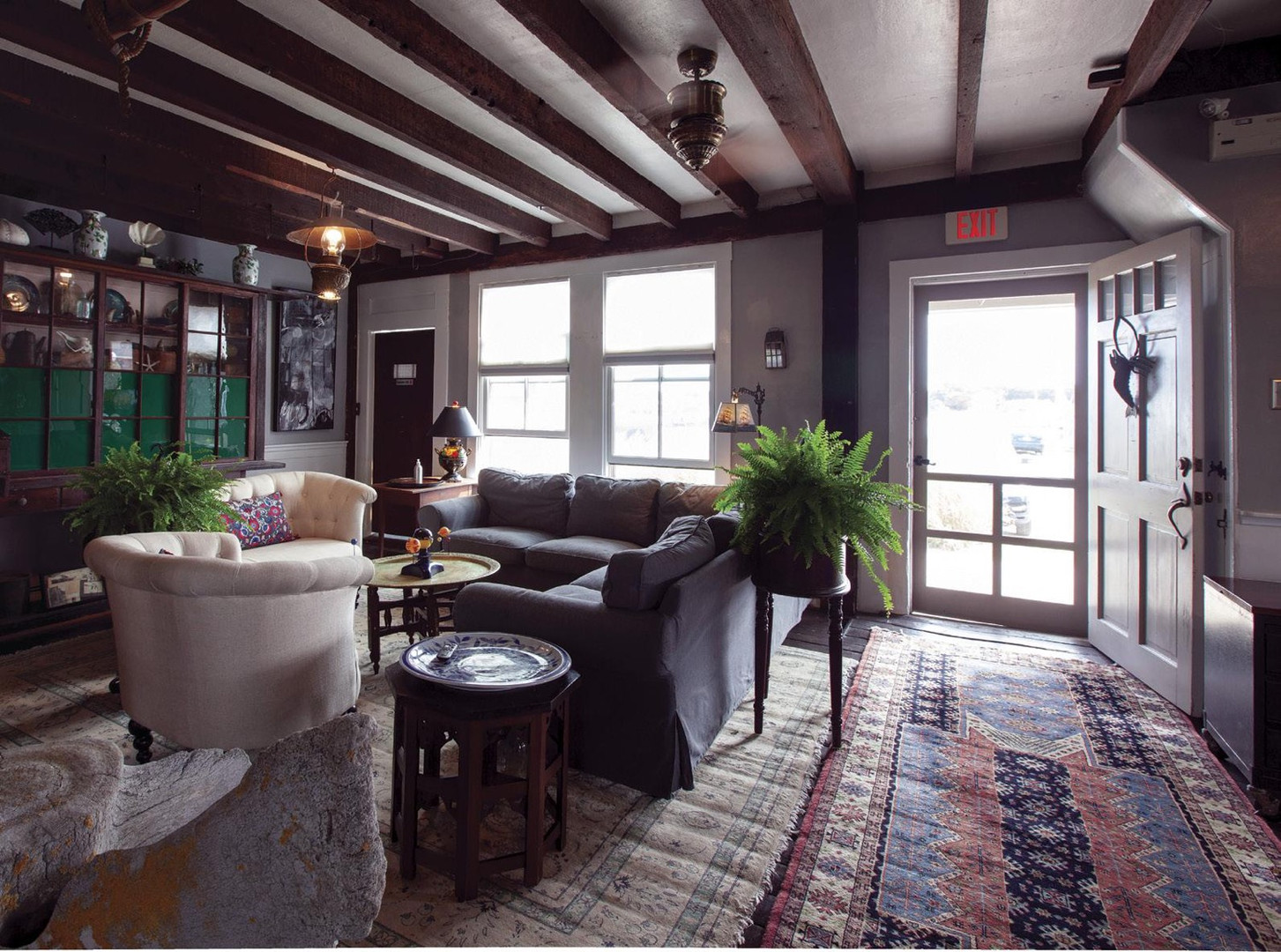 The lobby at the paquachuck