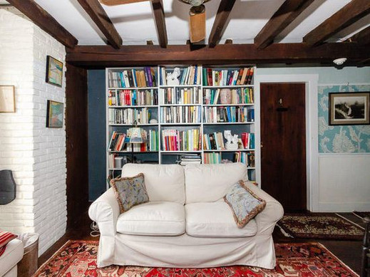 Library / sitting room on second floor