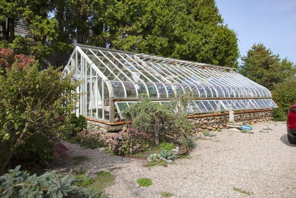 A Lord and Burnham greenhouse