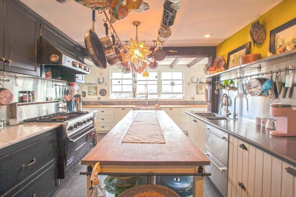 the main kitchen at the Paquachuck