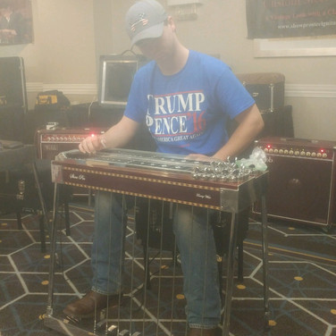 Me playing Tommy White's Show Pro