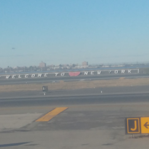Arriving at LaGuardia Airport