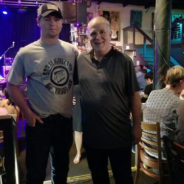 Me & Paul Franklin
