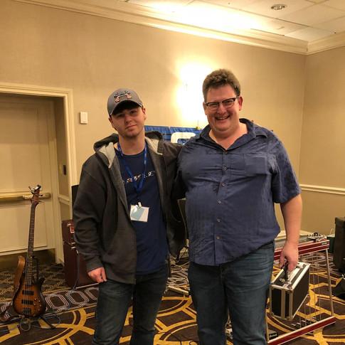 Me & Steve Palousek!