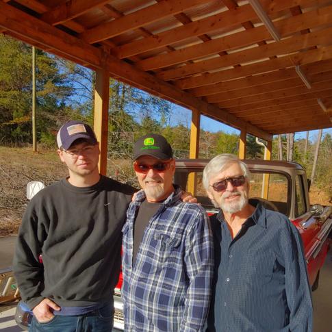 Me, Ricky Van Shelton and Jerry DeWitt