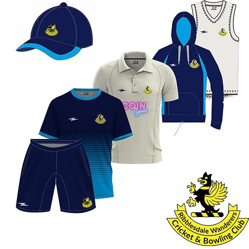 Ribblesdale Wanderers CC 6 Piece Kit Bundle