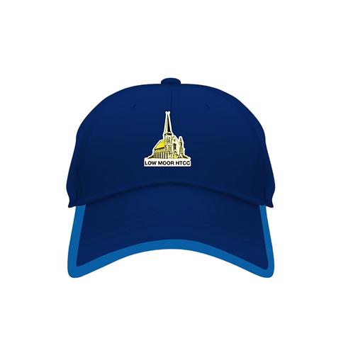 Low Moor HTCC Blue Baseball Cap