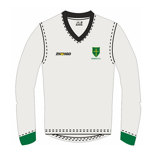Guiseley CC Long Sleeve Playing Sweater