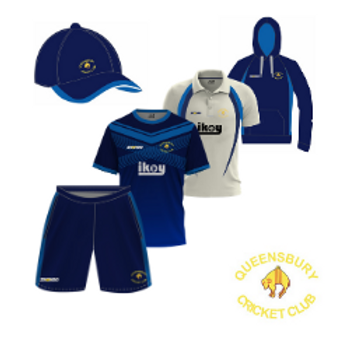 Queensbury CC 5 Piece Junior Kit Bundle