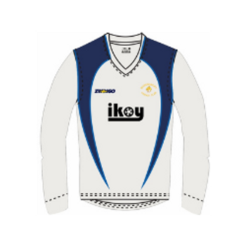 Queensbury CC Long Sleeve Junior Playing Sweater