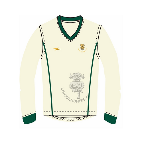 Lincolnshire CCC Long Sleeve Playing Sweater