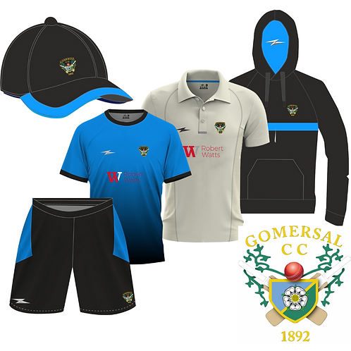 Gomersal CC 5 Piece Kit Bundle