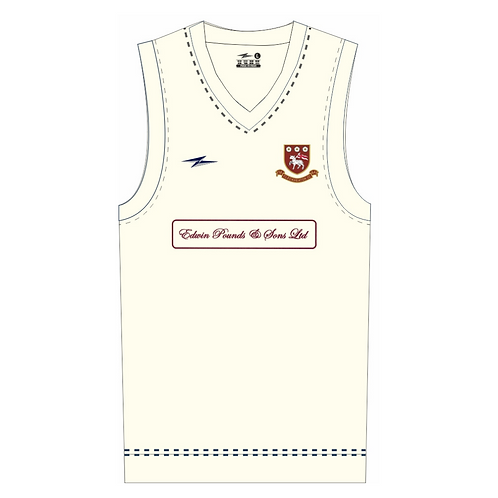 Cleckheaton CC Sleeveless Playing Sweater