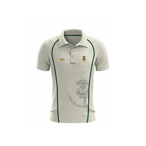 Lincolnshire CCC Short Sleeve Playing Shirt