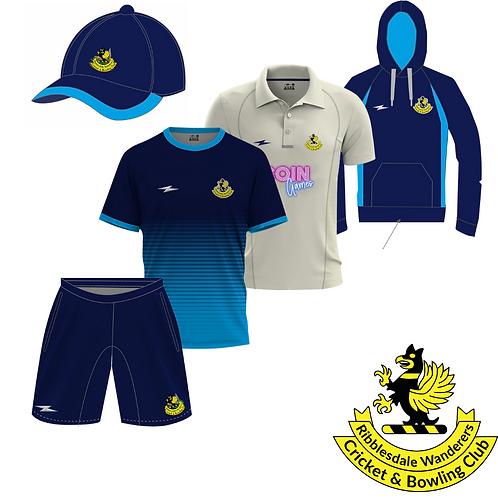 Ribblesdale Wanderers CC 5 Piece Kit Bundle
