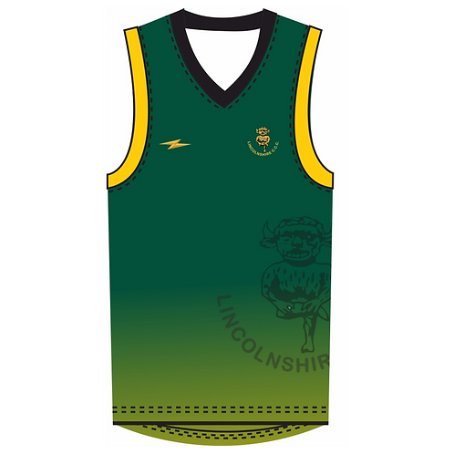 Lincolnshire CCC T20 Sleeveless Playing Sweater