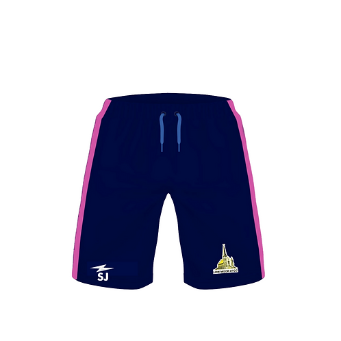 Low Moor HTCC Pink Training Shorts