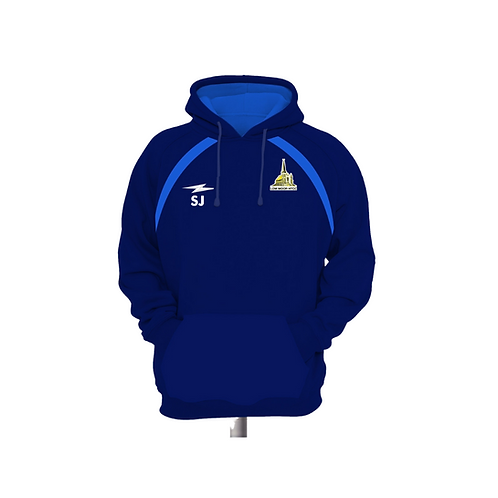 Low Moor CC Blue Hoody
