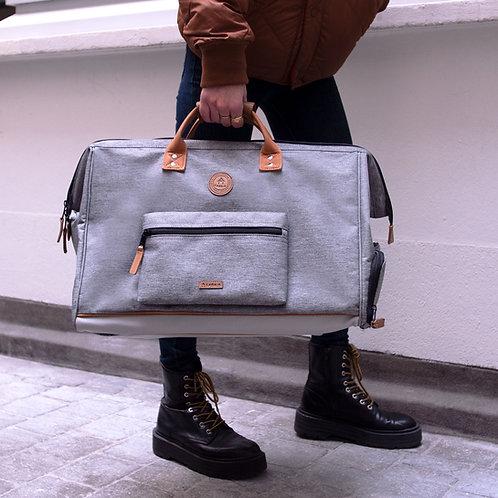 CABAIA-Duffle Bag New-York Gris clair