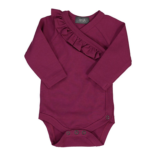 SMA SWEDEN TOP BODY VOLANT  HOLLY BURGUNDY