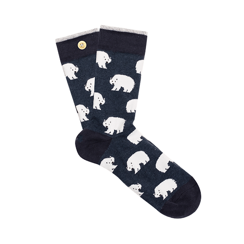 CABAIA  CHAUSSETTES VALENTIN CLEMENCE BEAR OURS
