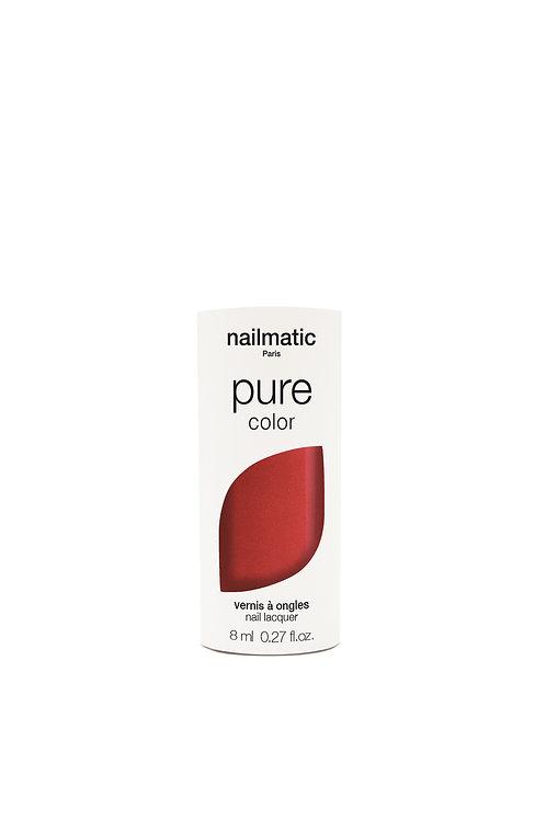 Nail Matic-  Vernis Biosourcé -Amour rouge lumière
