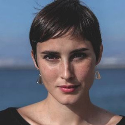 """Virginie Fantino- Boucles d'oreilles """"Citron Percé"""" or/argent"""