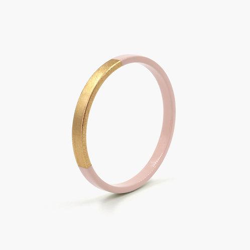 Pagil Blaja - Bracelet Trinity rond Dragé rosé/ Dreamgold