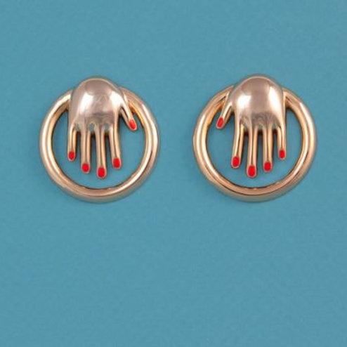 Coucou Suzette- Boucles d'oreilles Mains