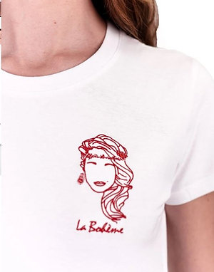Edgard - Tee shirt La Bohême blanc